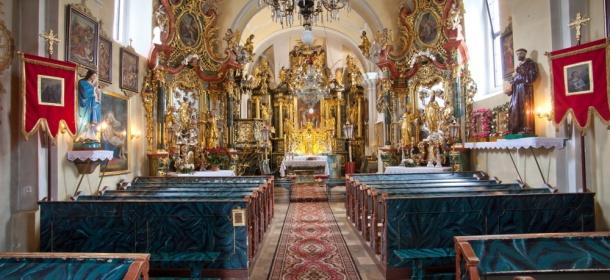 Kościół w Łapszach Wyżnych